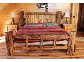 Log Bed Frame Plans Cedar Log Furniture Plans Woodworking Projects Plans