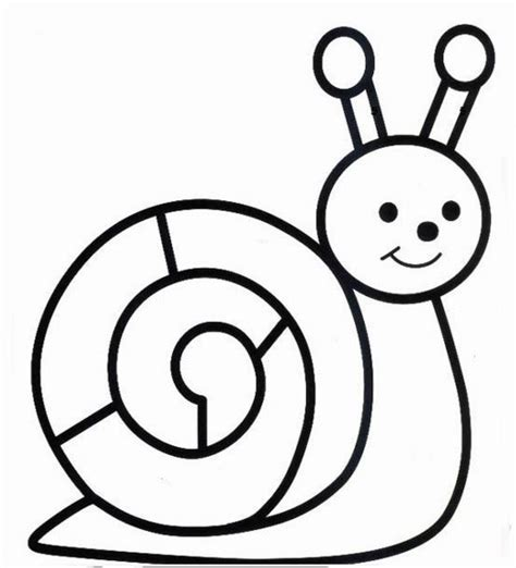 Ordinary Hugo L Escargot Pokemon #10: Coloriage-escargot-11743.jpg