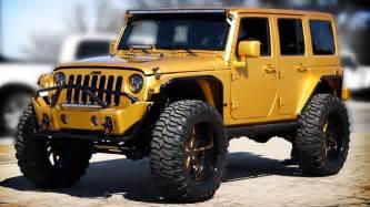 Customized Jeeps Custom Gold 2012 Jeep Wrangler Tour Unique