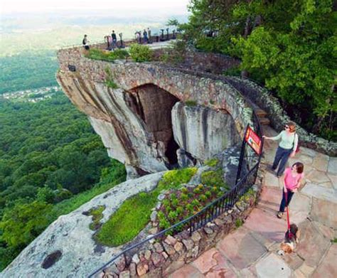 Lookout Mountain Attractions Rock Of Ages Garden City