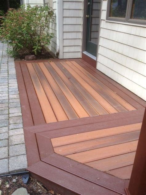 Composite Patio Pavers Deck And Railing Design Ideas Photos And Descriptions