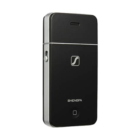 Alat Cukur Kumis Shengfa Black jual shengfa shaver model iphone alat cukur hitam