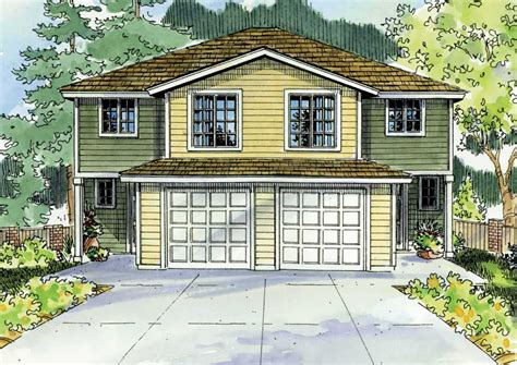 multi unit home plans multi unit home with 4 bdrms 1491 sq ft multi family