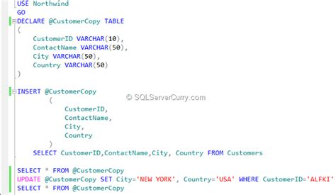 insert into temp table from stored procedure temporary table variables in sql server