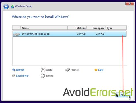 install windows 10 hard drive hard drive unable to install windows 10 couldn t create