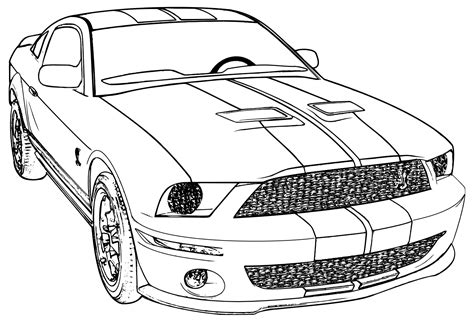 coloring pages of cars for adults printable mustang car car coloring page ford mustang