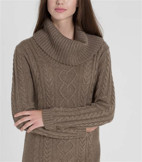 Cowl Neck Sweater womens merino cowl neck sweater dress
