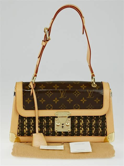 louis vuitton limited edition tweedy rabat bag yoogis