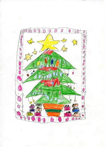 imagenes de navidad uñas dibujos premiados en el v concurso infantil de postales