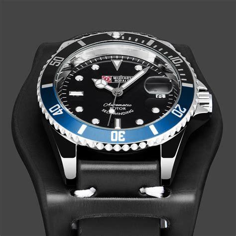 Jam Tangan Jam Tangan Pria Rolex Automatic 1 royale jam tangan analog automatic pria mr136 130 134 140 142 black blue