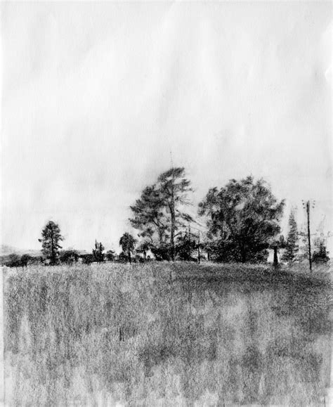 Drawing Landscapes by The Loop Charcoal Drawing A Logical Method