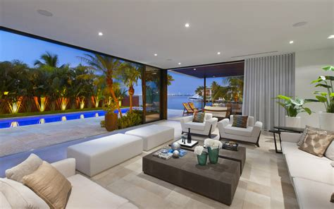 miami modern home design luis bosch designs and builds a new modern miami beach