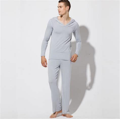 Mens Sleeper aliexpress buy brand pajamas fashion robe sets clothing modal mens sleepwear