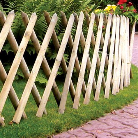 Expanding Garden Trellis Fence Half Expanding Panel Gt Garden Panel Tate