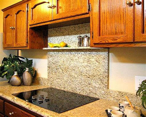 granite countertop with oak cabinets granite and title