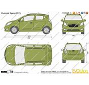 The Blueprintscom  Vector Drawing Chevrolet Spark