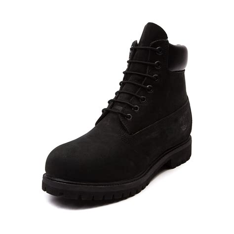 black timberland boots mens mens timberland 6 classic boot black journeys shoes