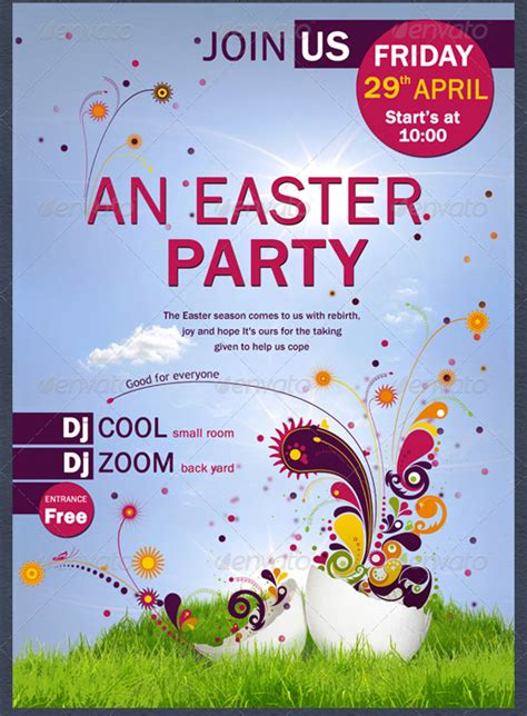 easter flyer template easter flyer template by coolflyers on deviantart