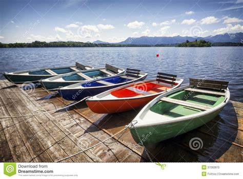 lake time boats row boats stock photo image of fishing part obsolete