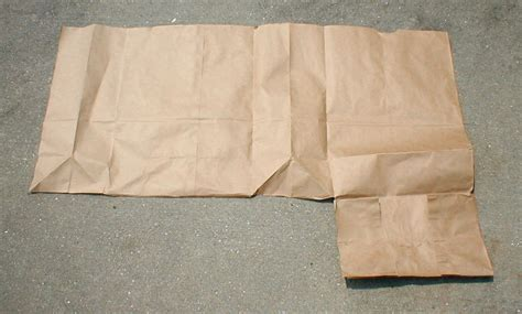 Make Paper Bag - how to make a book cover with a paper bag