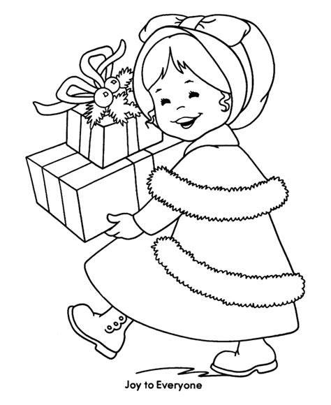 christmas coloring pages for girls download free
