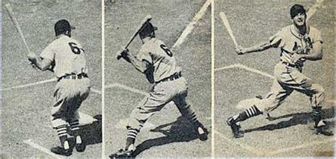 the man with the perfect swing stan quot the man quot musial quot the perfect swing quot circa 1958 22x18