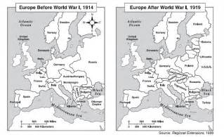 Europe Map After Ww1 by Blank Map Of Europe After Ww1 Images Amp Pictures Becuo