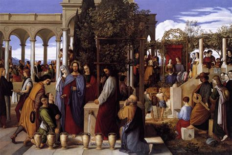 wedding at cana date file julius schnorr carolsfeld the wedding feast at