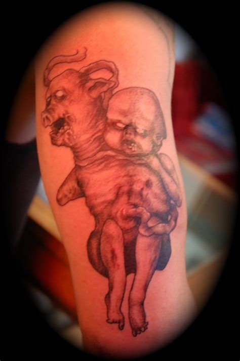 hell or high water tattoo evil baby by yelp