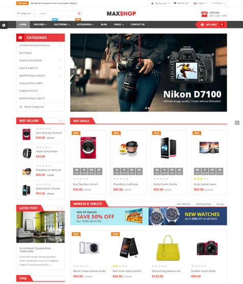 best furniture interior ecommerce opencart themes