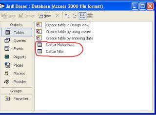 tutorial membuat database dengan xp tutorial membuat database dengan microsoft access 2010