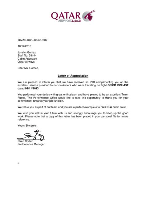 appreciation letter to while quitting company letter of appreciation 2013nov04