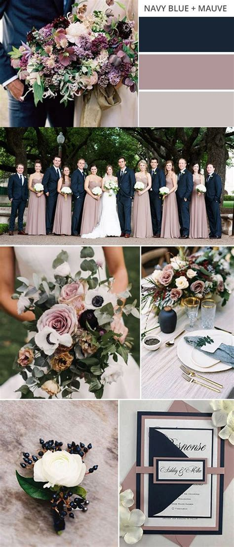 Top 10 Gorgeous Fall Wedding Color Palettes to Love