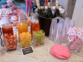mimosa bar carafes and vases from ikea cute idea for a girl s birthday party instead of a