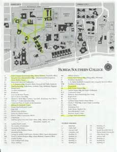 Florida Southern College Map the council of independent colleges historic campus