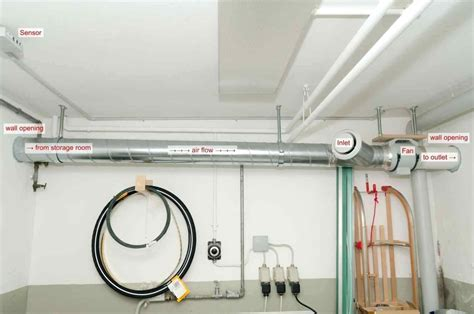 diy basement ventilation systems ideas new basement and