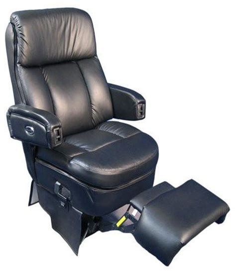 folding captains chair with footrest flexsteel model 591 w footrest master tech rv