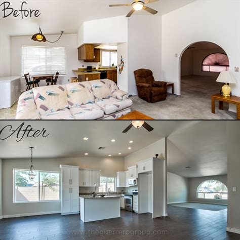 Home Design Before And After by Fix And Flip Home Investing With The Guerrero