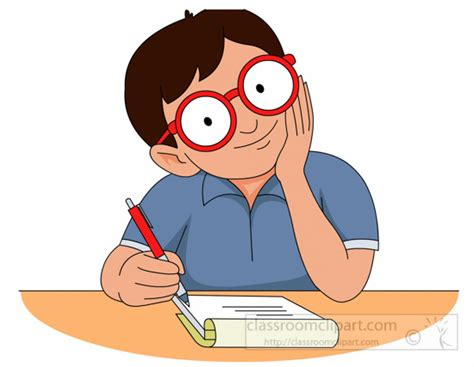student clipart student writing clip 101 clip