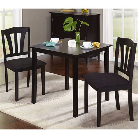 Small Kitchen Dining Table And Chairs Small Kitchen Table Sets Nook Dining And Chairs 2 Bistro Indoor For Spaces Room Ebay