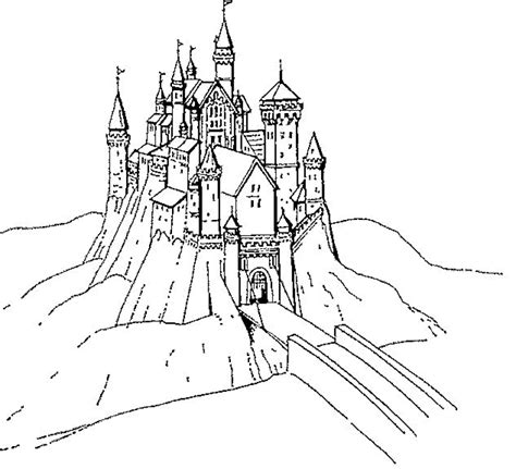 coloring pictures of knights and castles knights castles coloring home