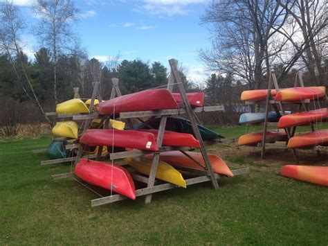 Canoe Garage Storage by Best 20 Kayak Rack Ideas On Kayak Storage