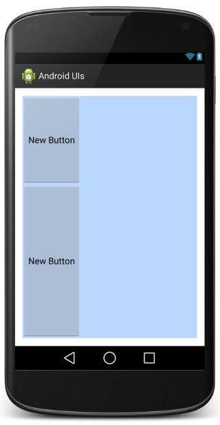 android layout width proportional android ui layouts and controls codeproject