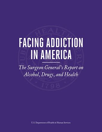 Cociane Detox In Stoted by Facing Addiction In America The Surgeon General S Report