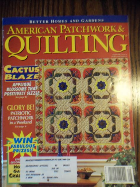 American Patchwork And Quilting Back Issues - american patchwork and quilting back issues american