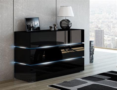 kommode sideboard schwarz kaufexpert kommode shine sideboard 120 cm schwarz