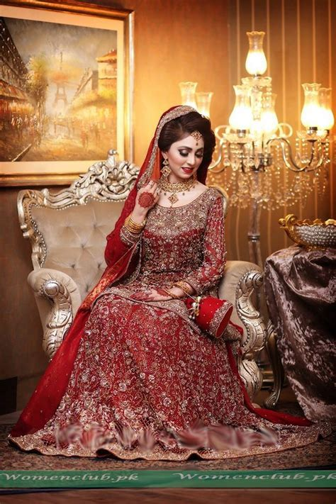 Best Pakistani Bridal Lehenga Collection 2017   Women Club