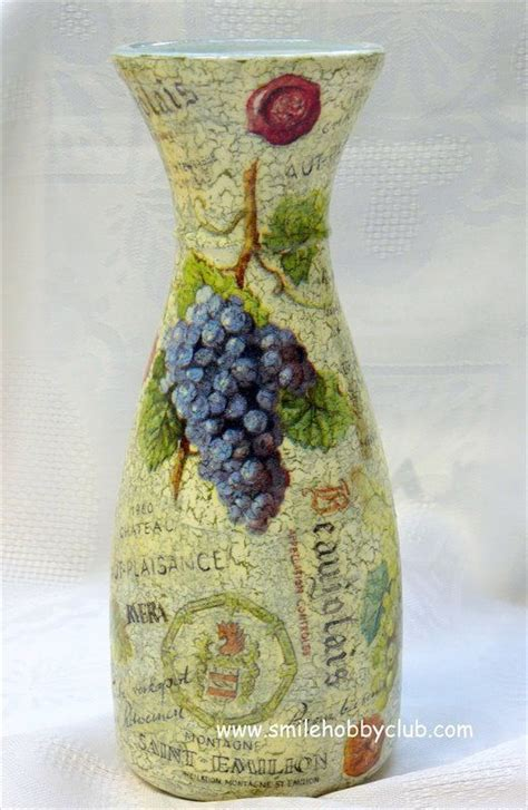 Bottle Decoupage - 17 best images about botellas decoradas on