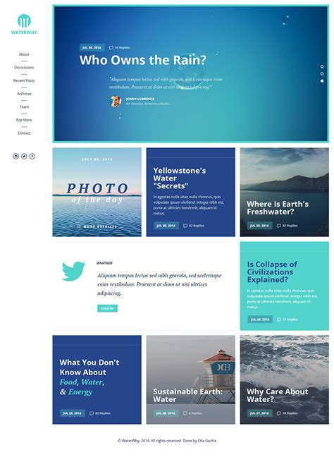 Environmental Ngo Website Template Free Psd Download Download Psd Find Website Template