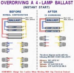 gallery for gt fluorescent light ballast wiring diagram